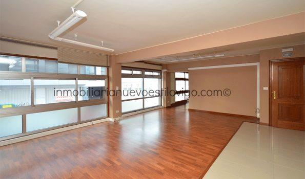 Amplia oficina con grandes ventanales, C/ Panamá-Vigo_zona calle Venezuela