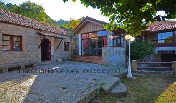 Excelente rehabilitación en esta original casa gallega de piedra con piscina en Nande-Gondomar_zona playas