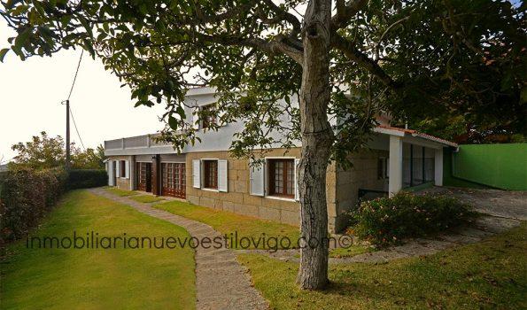Gran chalet con vistas, a cinco minutos andando de la playa-Panxón/Nigrán_zona playas