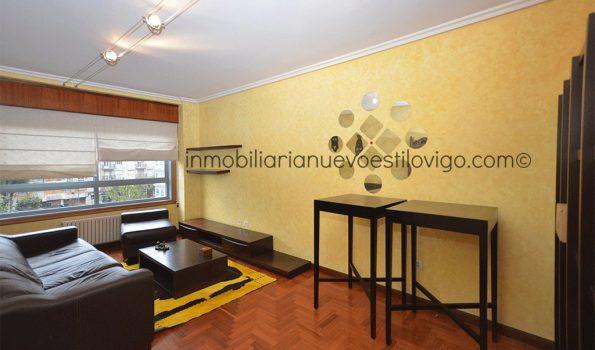 Cómodo apartamento de dos dormitorios con garaje y trastero C/ Manuel de Castro-Vigo_zona Balaidos