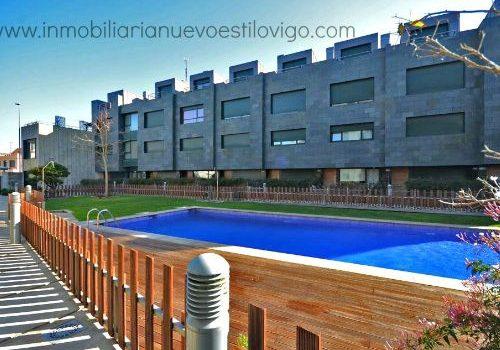 Bonito dúplex de dos dormitorios en urbanización con piscina, Sabarís-Baiona_zona playas