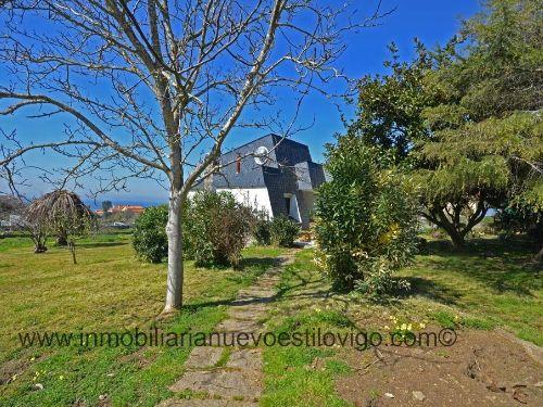 Original chalet con vistas y gran finca en Prado-Nigrán_zona playas