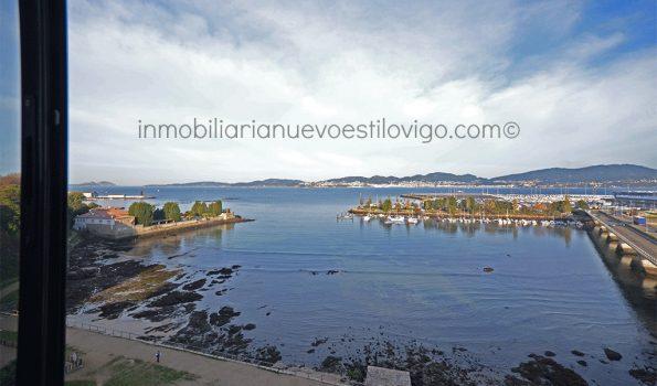 Amplia vivienda de 4 dormitorios, con impresionantes vistas al mar, en Avda. Atlántida-Vigo_zona Alcabre/Bouzas