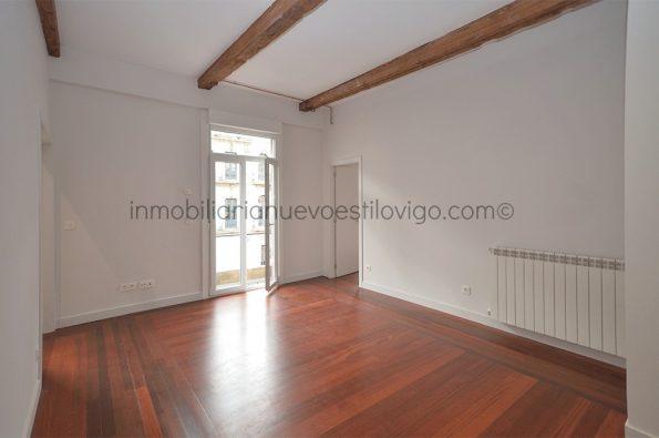 Céntrico apartamento de 2 dormitorios a estrenar, C/ García Barbón_Vigo-zona centro