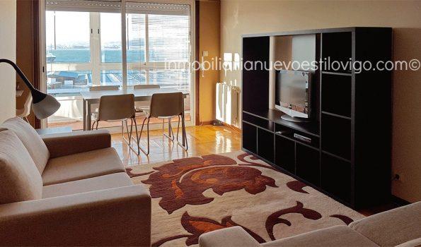 Soleada y con vistas al mar, vivienda de dos dormitorios, C/ Torrecedeira-Vigo_zona peniche
