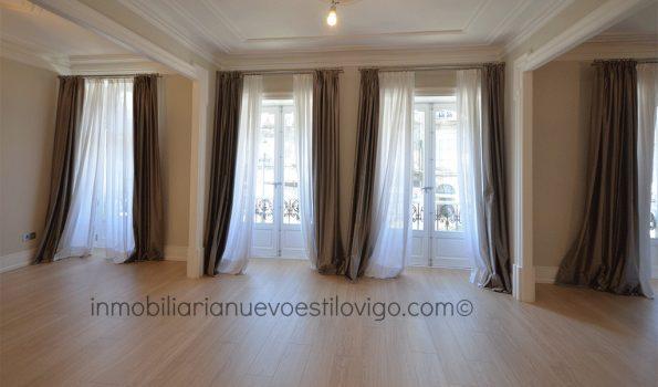 Impresionante rehabilitación en esta vivienda de 220 m2 en la céntrica calle Colón-Vigo_zona centro