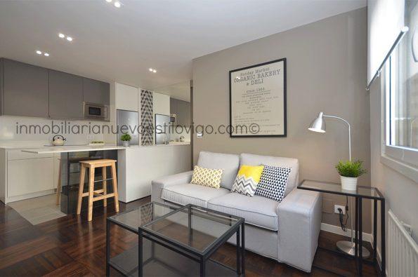 Apartamento ideal totalmente reformado, con garaje, C/ Menéndez Pelayo-Vigo_zona Camelias/López Mora