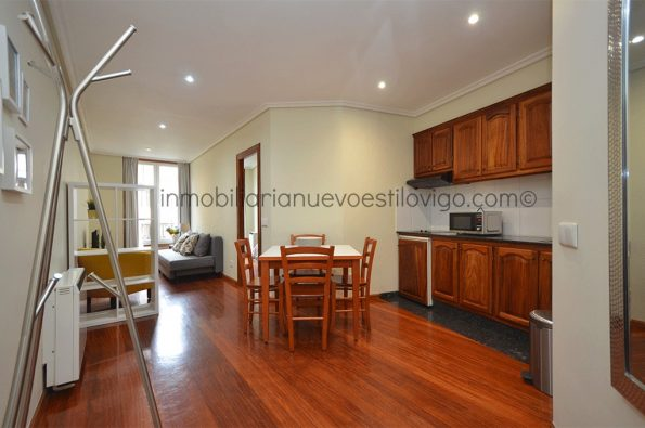 Acogedor apartamento muy céntrico C/ Victoria-Vigo_zona Alameda/centro