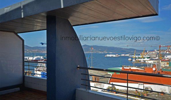 Bonito dúplex con terraza con vistas al mar y garaje, C/ Tomás Alonso-Vigo_zona Bouzas