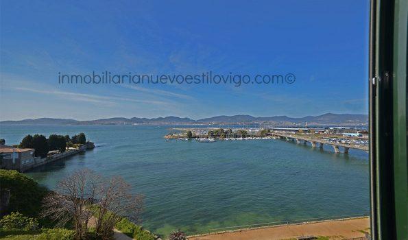 Espectaculares vistas al mar desde esta vivienda de 4 dormitorios en Alcabre-Vigo_zona playas