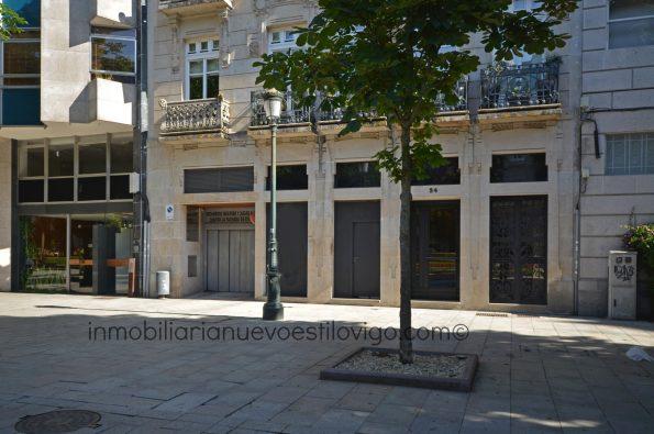 Magnífico local a pie de calle en la Plaza de Compostela-Vigo_zona centro Alameda