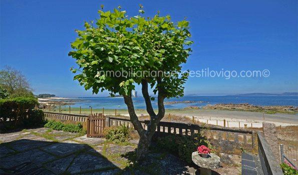 Vivienda única y exclusiva a pie de playa en Coruxo-Vigo_zona playas