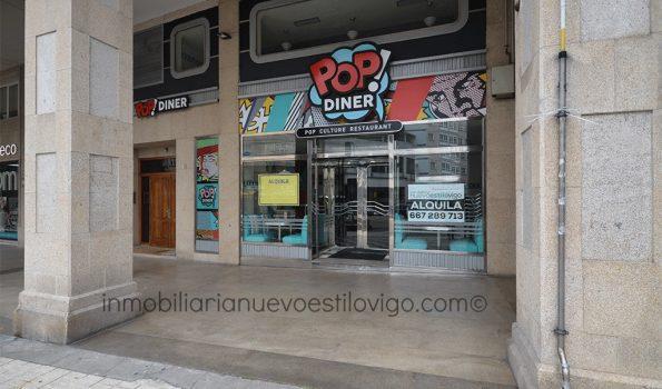 En la mejor zona: Amplio local listo para entrar, C/ Rosalía de Castro-Vigo_zona centro