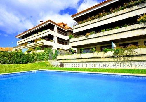 Exclusiva vivienda de cuatro dormitorios con dos terrazas en Panxón-Nigrán_zona playas