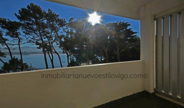 Espectaculares vistas al mar desde este dúplex en la isla de Toralla-Vigo_zona playas