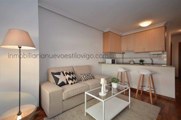 Apartamento de un dormitorio con garaje, C/ Pi y Margall-Vigo_zona ciudad