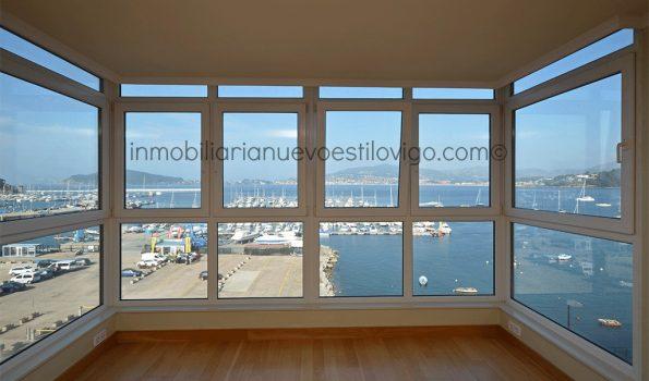 Estupenda vivienda de tres dormitorios con magníficas vistas al mar, C/ Monterreal-Vigo_zona playas