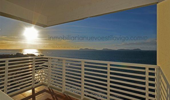 Espectaculares vistas desde este dúplex situado en la isla de Toralla-Vigo_zona playas