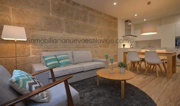 Apartamento de dos dormitorios y dos baños, con espectacular reforma, C/ Bolivia-Vigo_zona Gran  Vía/Corte Inglés