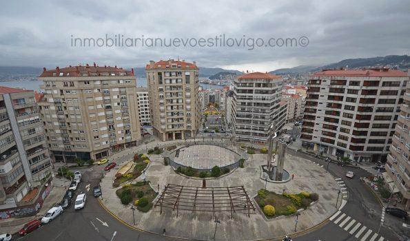 Espectacular piso de 4 dormitorios con 2 plazas de garaje en Plaza Elíptica-Vigo_zona centro