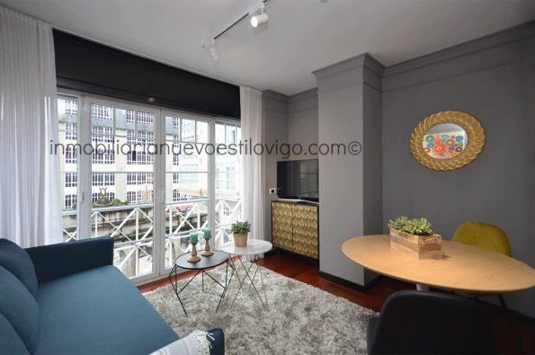 Exclusivo apartamento de un dormitorio con cocina independiente en C/ Eduardo Iglesias_Vigo-zona Príncipe