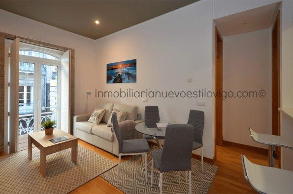 Apartamento de 1 dormitorio completamente equipado prácticamente a estrenar, C/ Velázquez Moreno- Vigo_zona centro