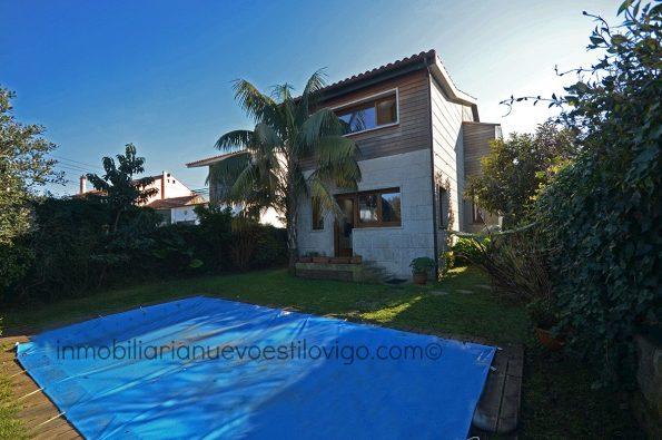 Moderno y luminoso chalet con piscina, C/ Carrasqueira-Vigo_zona Coruxo