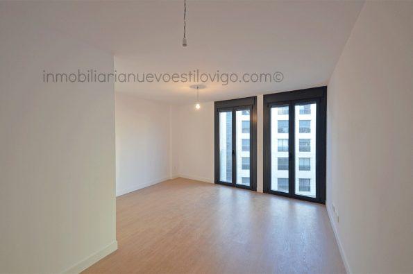 Céntrica vivienda a estrenar de tres dormitorios con garaje, C/ Alfonso XIII-Vigo_zona centro