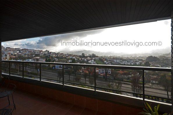 Amplio apartamento con terraza y garaje de un dormitorio, C/ Gran vía-Vigo_zona Traviesas