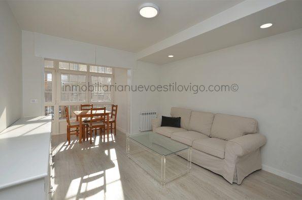 Apartamento a estrenar, completamente reformado, de un dormitorio con garaje, C/ Catelao-Nigrán_zona playas