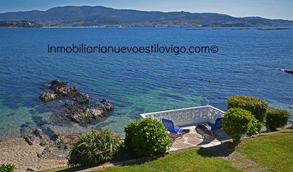 Enclave único e irrepetible al borde del mar, en Monteferro-Nigrán_zona playas