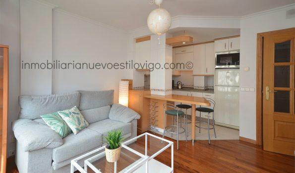 Acogedor apartamento de un dormitorio, con garaje y trastero en C/ Enrique Macías-Vigo_zona Hispanidad
