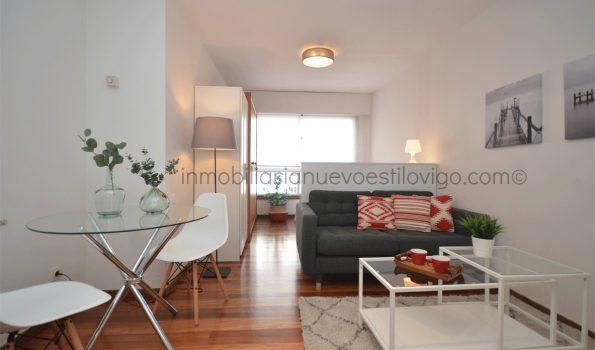 Céntrico estudio, totalmente acondicionado, a estrenar, C/ Dr. Cadaval-Vigo_zona centro/Puerta del Sol