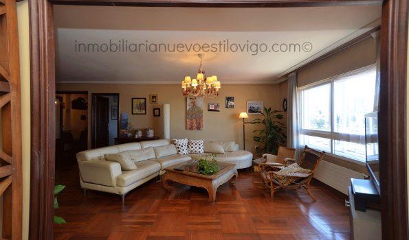 Amplia y luminosa vivienda totalmente exterior, de 165 m2, C/ Coruña-Vigo_Zona plaza Industria