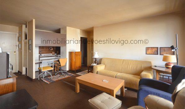 Oportunidad de comprar apartamento de dos dormitorios para actualizar en Avda. Gran Vía-Vigo_zona Traviesas