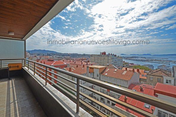 Gran piso de 5 dormitorios con vistas al mar en c/Camelias-Vigo_zona Camelias