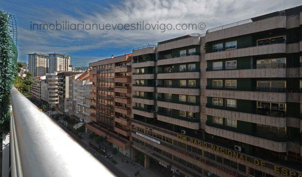 Espectacular dúplex de 370 m2, con magnífica terraza y dos plazas de garaje, C/ García Barbón-Vigo_zona centro
