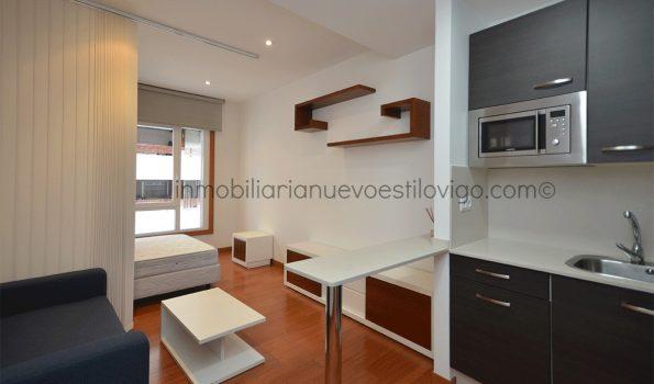 Moderno estudio situado en la C/ Brasil-Vigo_zona Gran Vía/Corte Inglés