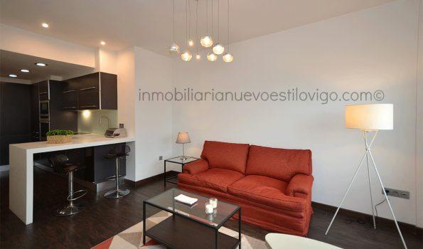 Apartamento completamente reformado en el Hotel Bahía, C/Cánovas del Castillo_Vigo-zona centro