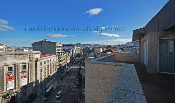 Espectacular Atico-Dúplex con tres terrazas y dos plazas de garaje, C/ Policarpo Sanz-Vigo_zona centro