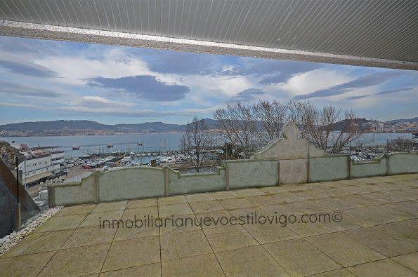 Atico con espectacular terraza con maravillosas vistas al mar, C/ Montero Rios-Vigo_zona marítima centro