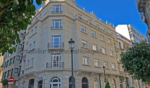 Obra Nueva: Vivienda de tres dormitorios con garaje, C/ Luis Taboada-Vigo_zona centro