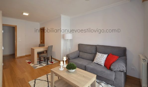 Amplio apartamento de un dormitorio con garaje, C/ México_Vigo-zona centro/Corte Ingés