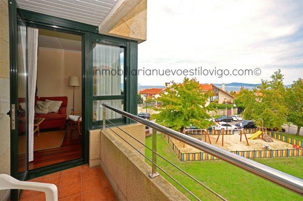 Apartamento de dos dormitorios y dos baños, con garaje en Canido-Coruxo_zona playas