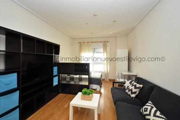 Luminoso estudio muy bien situado, C/ Luis Taboada-Vigo_zona marítima centro