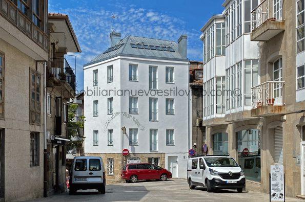 Dos estudios y un dúplex a estrenar en edificio rehabilitado, C/ Travesía do Franco-Vigo_zona casco histórico