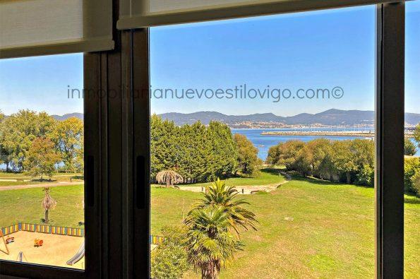 Dúplex de diseño en primera línea de playa en Alcabre-Vigo_zona playas