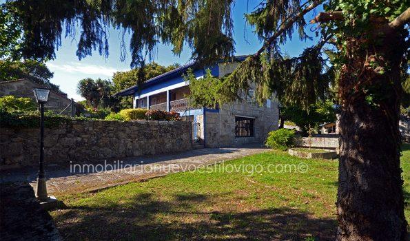 Impresionante finca de 7.000m² con casona de piedra típica gallega, piscina y casa de invitados, en Nigrán_zona playas interior