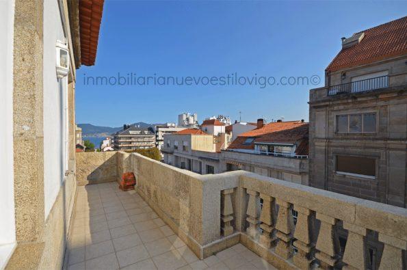 Espectacular vivienda a estrenar con terraza, C/ Reconquista-Vigo_zona Plaza Compostela/centro