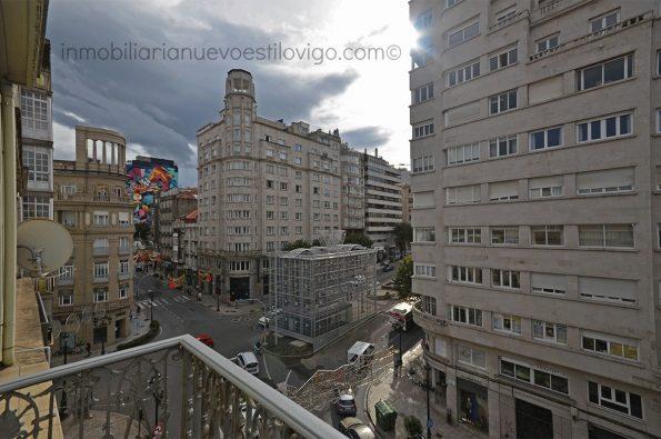 Magnífica vivienda de 170 m2 con dormitorios con vistas al mar, C/ Urzaiz-Vigo_zona centro